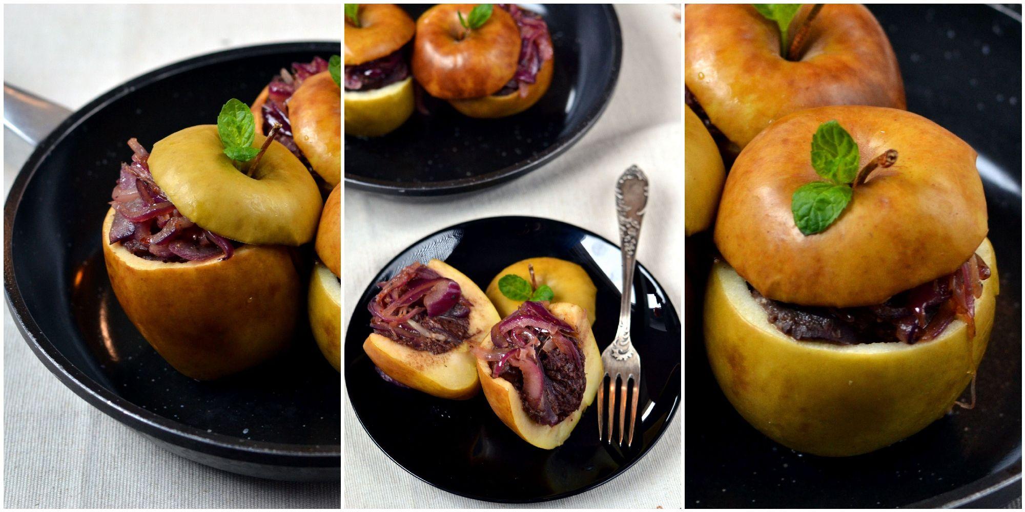 faszerowane jablka