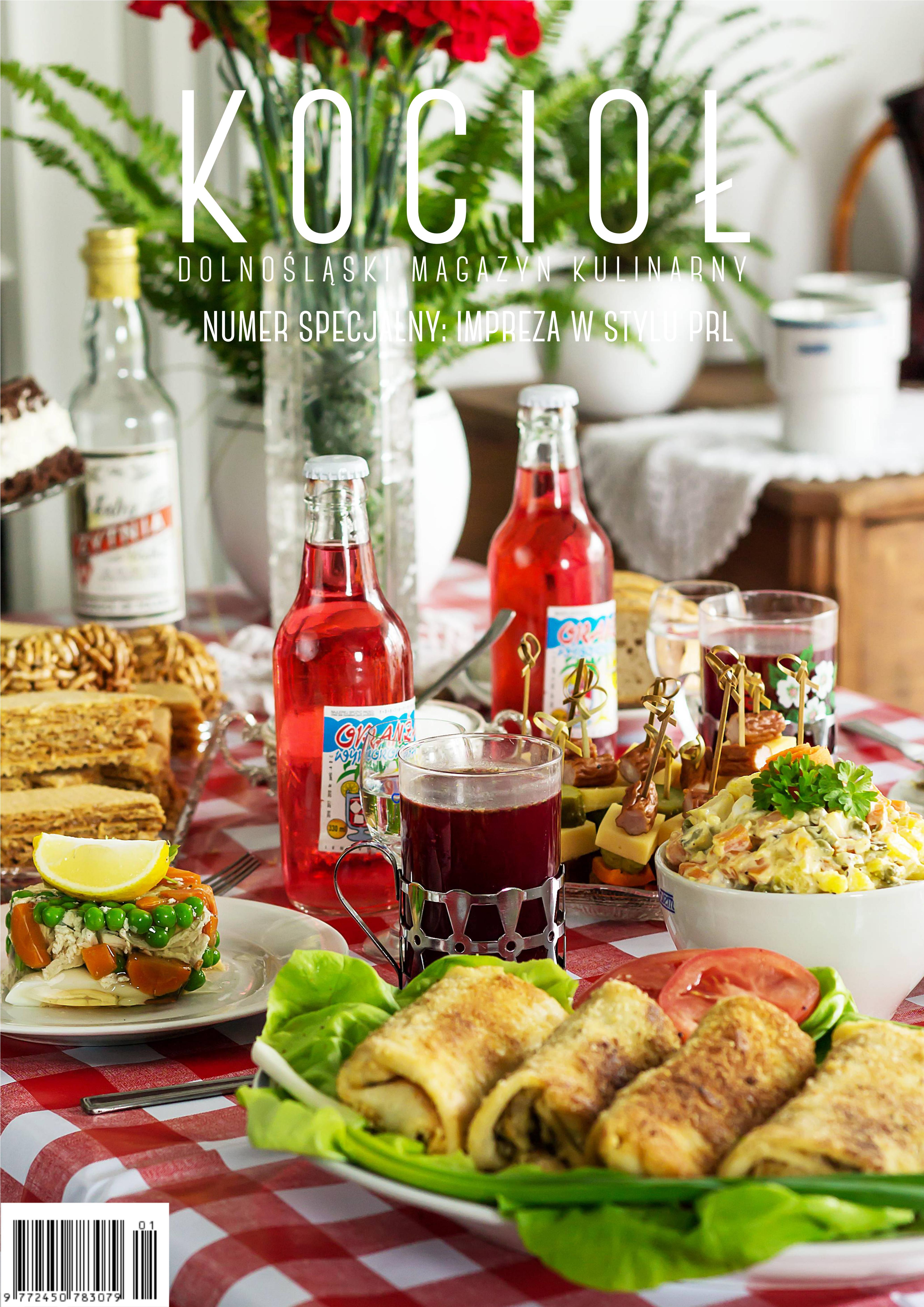 Dolnoslaski Magazyn Kulinarny Kociol Numer Specjalny Impreza W Stylu Prl