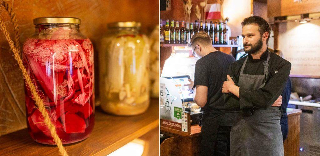Restauracja Pod Strusiem, Wrocław. Nowy szef kuchni, Grzegorz Mroziński (i jego kiszonki)